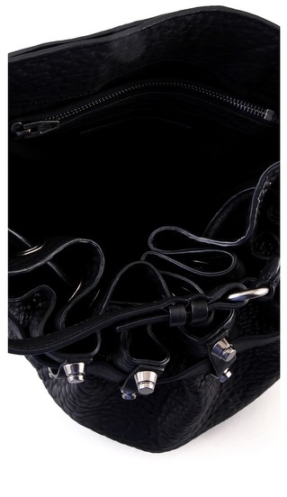 Alexander Wang Diego Bucket Bag with Silver Hardware