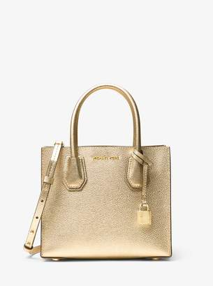 MICHAEL Michael Kors Mercer Metallic Leather Crossbody