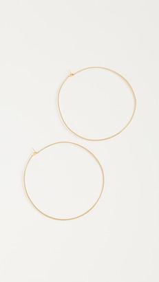 Luv Aj Capri Hoop Earrings