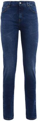 Fay Stretch Denim Faded Jeans