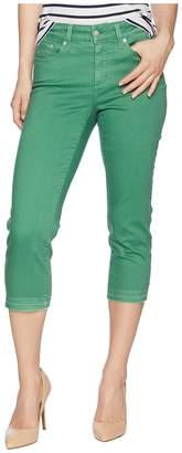 NYDJ Petite Petite Capris in Cactus United States Women's Jeans