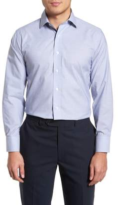 Lorenzo Uomo Trim Fit Dot Dress Shirt