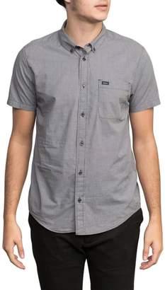 RVCA 'That'll Do' Slim Fit Microdot Woven Shirt