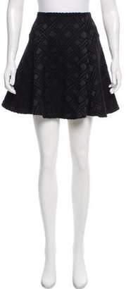 Alice + Olivia Textured Knit Mini Skirt w/ Tags