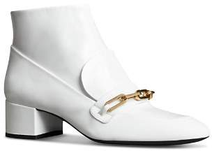 Burberry Women's Chettle Leather Booties