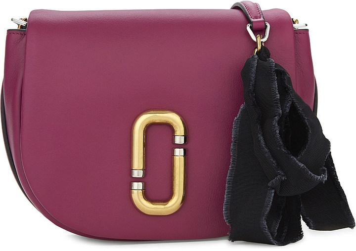 Marc JacobsMARC JACOBS Kiki leather saddle bag