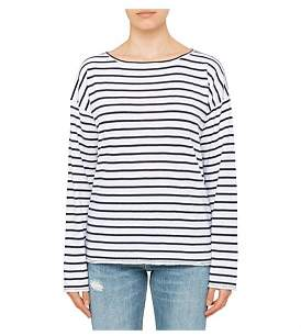Rag & Bone Dakota Long Sleeve Stripe Top