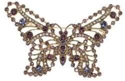 Anne Klein Goldtone Butterfly Brooch