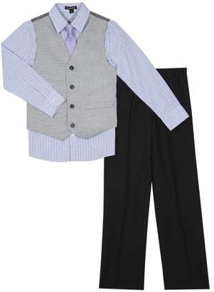 George Boys' Mini Check Special Occasion Dress Outfit Set