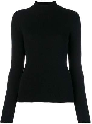 Pringle ribbed roll neck sweater