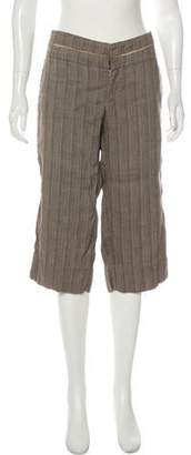 Gary Graham Mid-Rise Cropped Pants