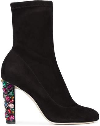 Jimmy Choo jewel embellished boots