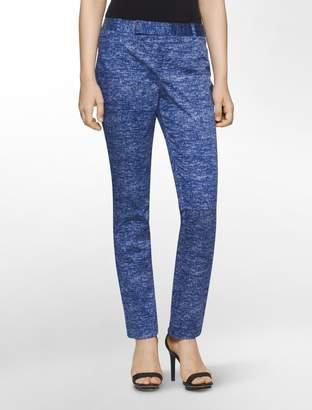 Calvin Klein body fit crosshatch print pants