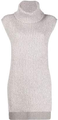 See by Chloe sleeveless turtleneck sweater