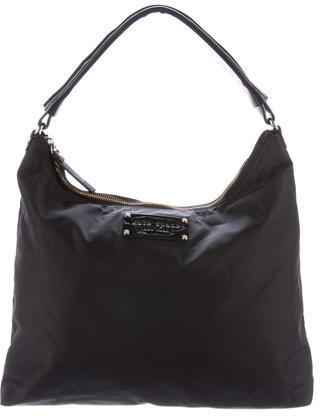 Kate SpadeKate Spade New York Leather-Trimmed Nylon Hobo