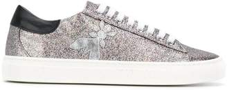 Patrizia Pepe glitter embellished sneakers