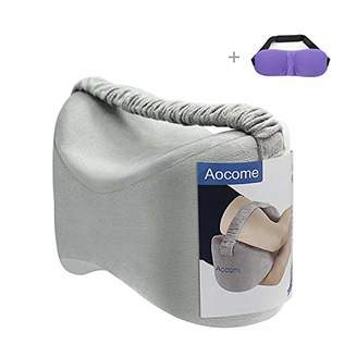Aocome Knee Pillow for Side Sleepers - Ergonomically Designed for back pain