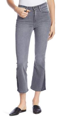 Good American Crop Shadow Gusset Flare Jeans