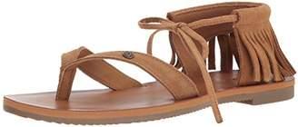 Volcom Women's All Access Gladiator Fashion Flat Sandal