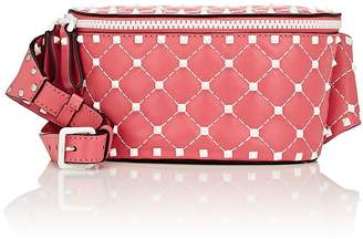 Valentino Women's Rockstud Spike Small Leather Belt Bag