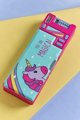 Next Girls Magcial Unicorn Pencil Case - Blue