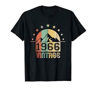 Vintage 1966 Birthday Gifts Funny T-shirt 52th Birthday Mens