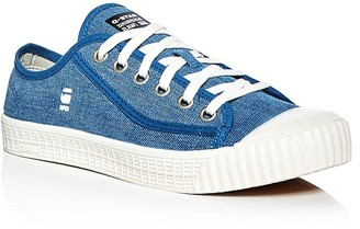 G-STAR RAW Rovulc Brizzel Denim Lace Up Sneakers $79.95 thestylecure.com