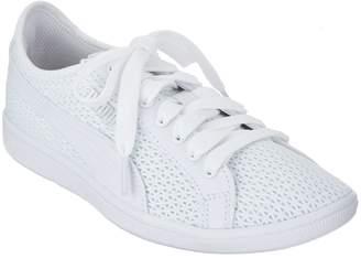 Puma Mesh Lace-Up Sneakers - Vikky Mesh FM
