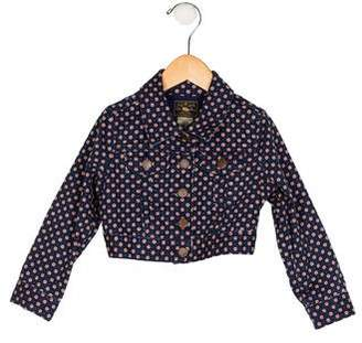 Ralph Lauren Girls' Printed Jean Jacket