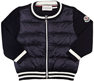 Moncler Maglia Down-Quilted Cardigan $195 thestylecure.com
