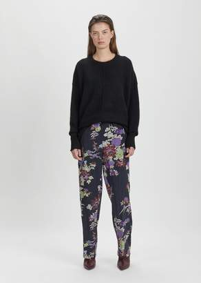 Isabel Marant Isley Printed Silk Pant Black