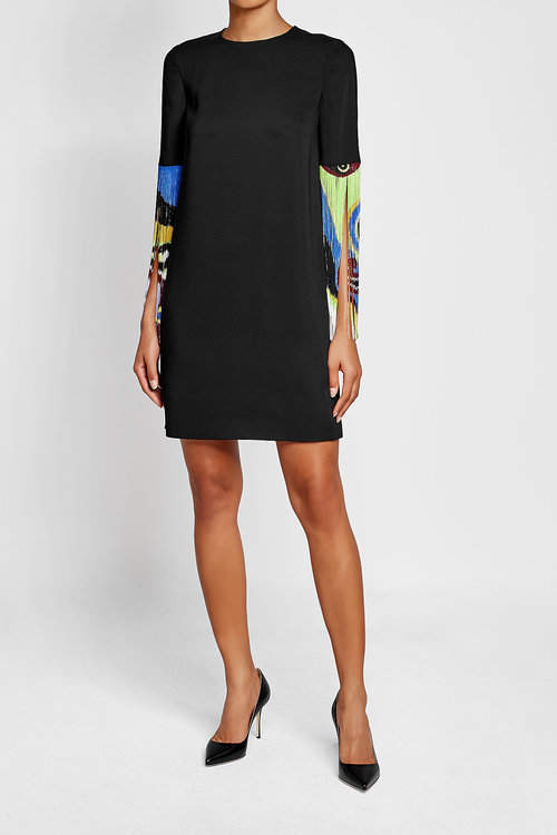 Emilio Pucci Dress with Printed Fringe