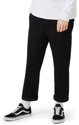 Men's Topman Cropped Wide Leg Chinos $65 thestylecure.com