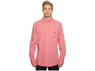 Chaps Long Sleeve End on End Woven Shirt Men's Clothing