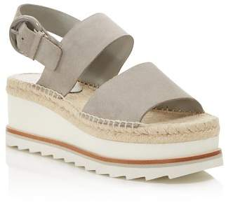 Marc Fisher Women's Greely Suede Espadrille Wedge Platform Sandals - 100% Exclusive