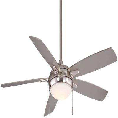 Minka Aire Minka-Aire Lunair 54-Inch LED Single-Light Ceiling Fan in Brushed Nickel