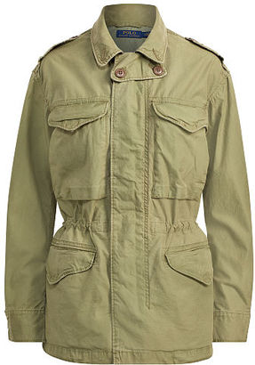 Polo Ralph Lauren Cotton Twill Military Jacket $298 thestylecure.com