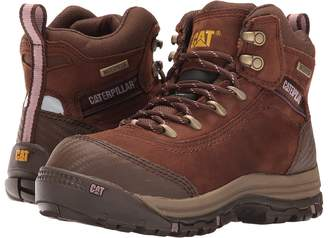 Caterpillar Ally 6 Waterproof Composite Toe Women's Work Lace-up Boots