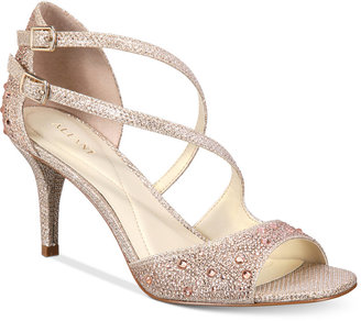 Alfani Women's Cremena Asymmetrical Evening Sandals, Only at Macy's $79.50 thestylecure.com
