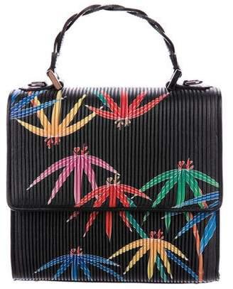 Les Petits Joueurs Mini Alex Braid Palms Bag