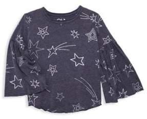 Chaser Little Girl's& Girl's Shooting Stars Tee