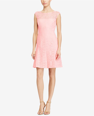 American Living Lace Fit & Flare Dress $99 thestylecure.com
