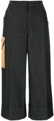 Marco De Vincenzo side pocket culottes