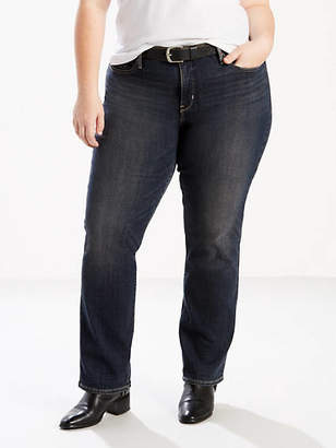 Levi's 314 Shaping Straight Jeans (Plus)