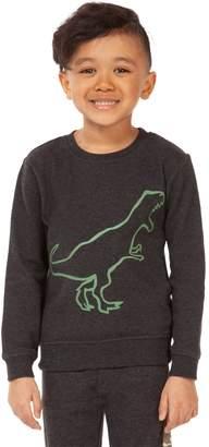Dex Little Boy's Dinosaur-Print Cotton Blend Sweatshirt