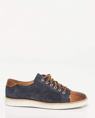 Le Château Suede & Leather Cap Toe Sneaker