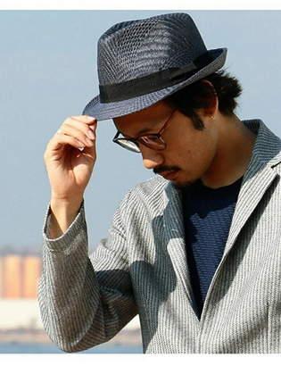 Men's Bigi (メンズ ビギ) - MEN'S BIGI パナマハット(ストローハット) メンズ ビギ 帽子/ヘア小物