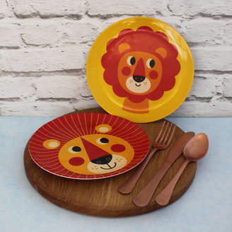 Posh Totty Designs Interiors Lion Melamine Plate