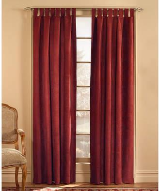 CHF Microsuede Tab-Top Curtain Panel