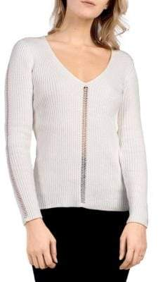 French Connection Lois Mozart Cotton Sweater